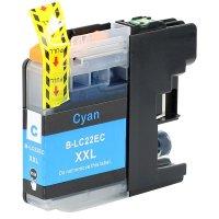 Druckerpatrone Kompatibel zu Brother LC-22EC cyan