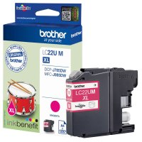 Druckerpatrone Original Brother LC-22UM magenta