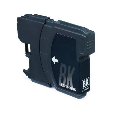 Druckerpatrone Kompatibel zu Brother LC-980/LC-1100 BK schwarz