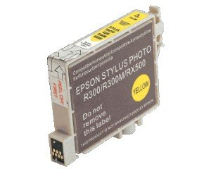 Druckerpatrone Kompatibel zu Epson T0484, C13T04844010 gelb