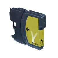 Druckerpatrone Kompatibel zu Brother LC-980/LC-1100 Y gelb