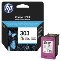 Druckerpatrone Original HP T6N01AE (303) 3-farbig