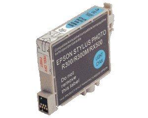 Druckerpatrone Kompatibel zu Epson T0485, C13T04854010 foto-cyan