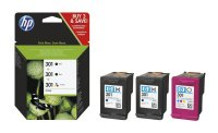 Druckerpatrone Multipack Original HP E5Y87EE (301)...