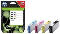 Druckerpatrone Multipack Original HP N9J73AE (364)...