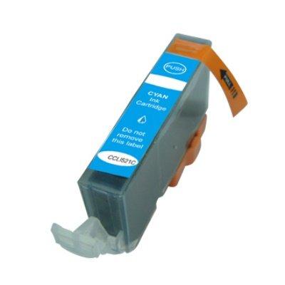 Druckerpatrone Kompatibel zu Canon CLI-521C (2934 B 001) cyan