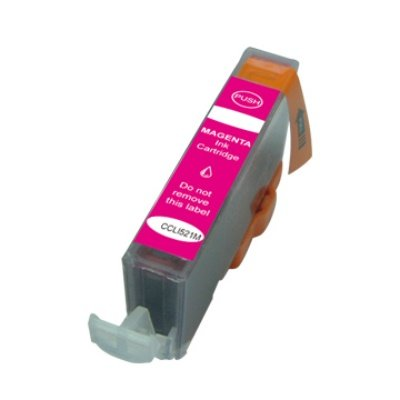 Druckerpatrone Kompatibel zu Canon CLI-521M (2935 B 001) magenta