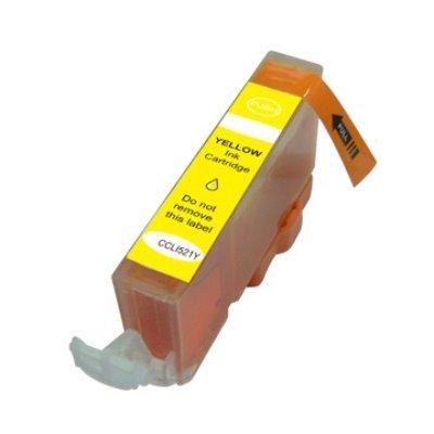 Druckerpatrone Kompatibel zu Canon CLI-521Y (2936 B 001) gelb