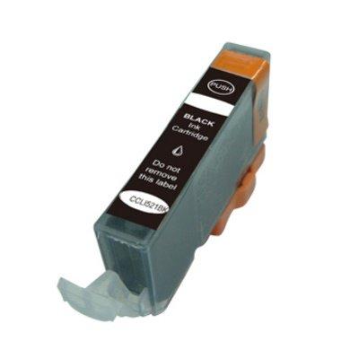 Druckerpatrone Kompatibel zu Canon CLI-521BK (2933 B 001) foto-schwarz