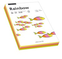 Multifunktionspapier Rainbow, DIN A4, 80 g / qm,...