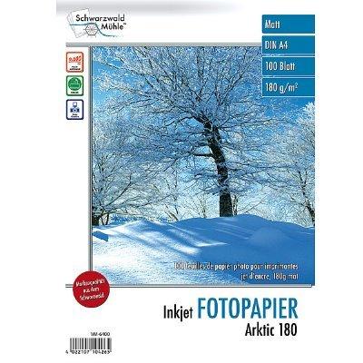 Fotopapier Arktic 180 DIN A4 matt,100 Blatt, 180 g/m², 9600 dpi
