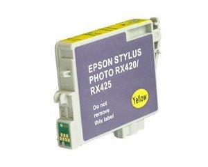 Druckerpatrone Kompatibel zu Epson T0554, C13T05544010 gelb