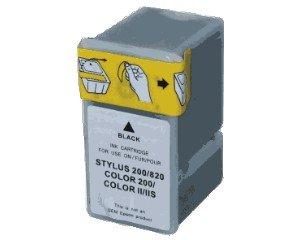 Druckerpatrone Kompatibel zu Epson C13S020047 schwarz