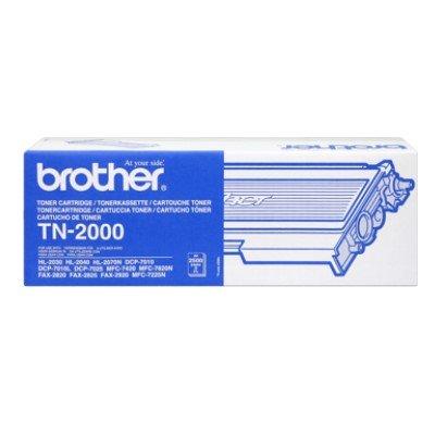 Toner Original Brother TN-2000 schwarz