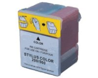 Druckerpatrone Kompatibel zu Epson C13S020097 3-farbig