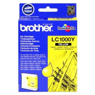 Druckerpatrone Original Brother LC-1000 Y gelb