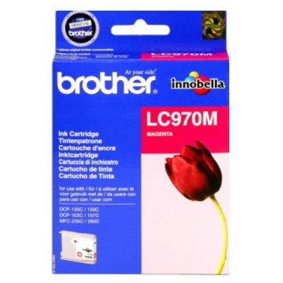 Druckerpatrone Original Brother LC-970 M magenta