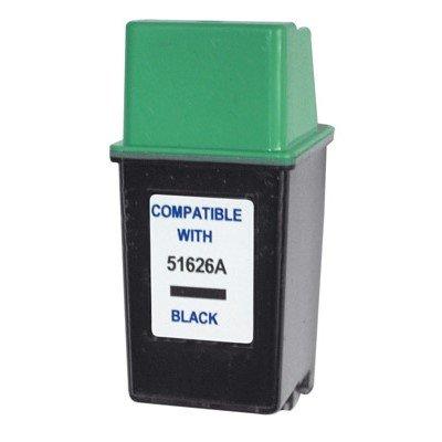 Druckerpatrone Kompatibel zu HP 51626AE (26) schwarz