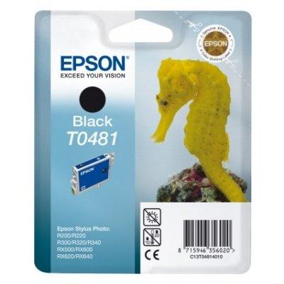 Druckerpatrone Original Epson T0481, C13T04814010 schwarz