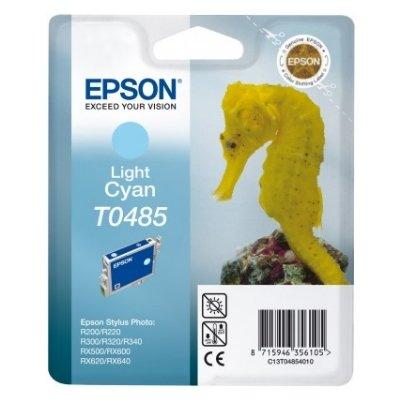 Druckerpatrone Original Epson T0485, C13T04854010 foto-cyan