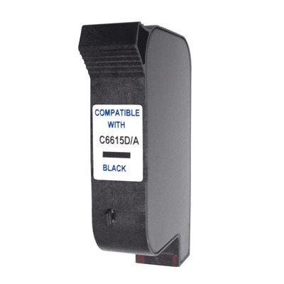Druckerpatrone Kompatibel zu HP C6615D (15) schwarz
