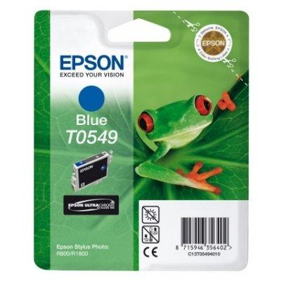 Druckerpatrone Original Epson T0549, C13T05494010 purblau