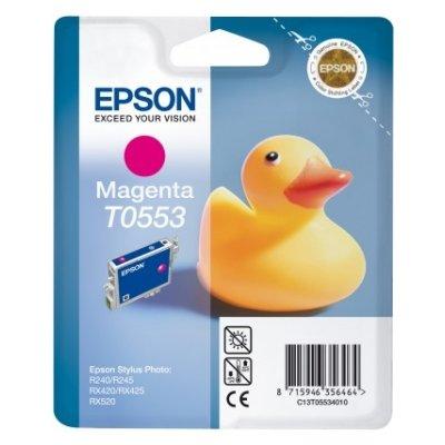 Druckerpatrone Original Epson T0553, C13T05534010 magenta