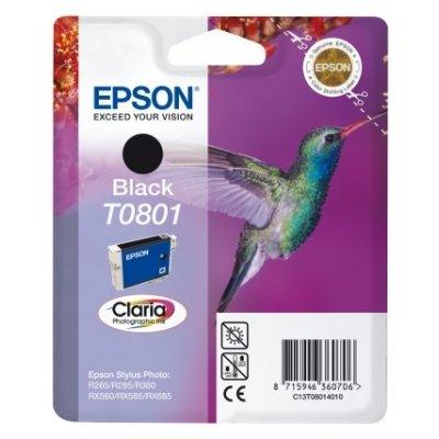 Druckerpatrone Original Epson T0801, C13T08014010 schwarz
